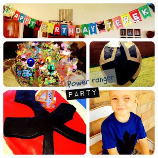 One of the best Power Ranger Parties I've seen - and I've seen a lot while trying to plan my son's party!   Larcie Bird: Power Ranger Birthday Party