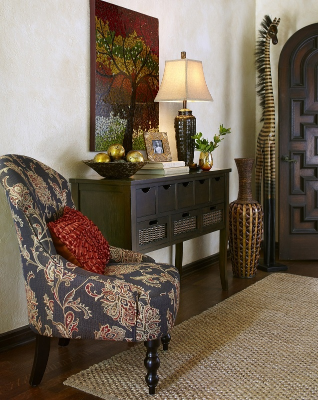 Brylen Armchair and Logan Storage Console from Pier 1Brylen Armchairs, Fantastic Storage, Consoles Tables, Consoles Arrangements, Armchairs And Lamps Tables, Pier One Decor, Logan Storage, Pier 1 Imports Decor, Storage Consoles