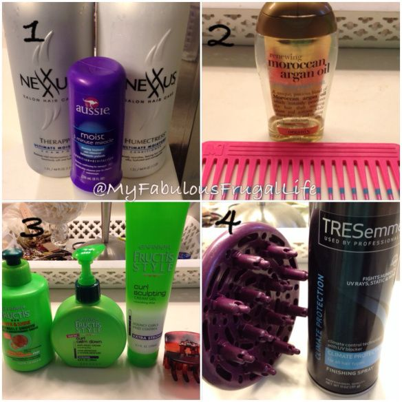 curly hair routine - curly hair products, frizz eliminators, curly hair regimen