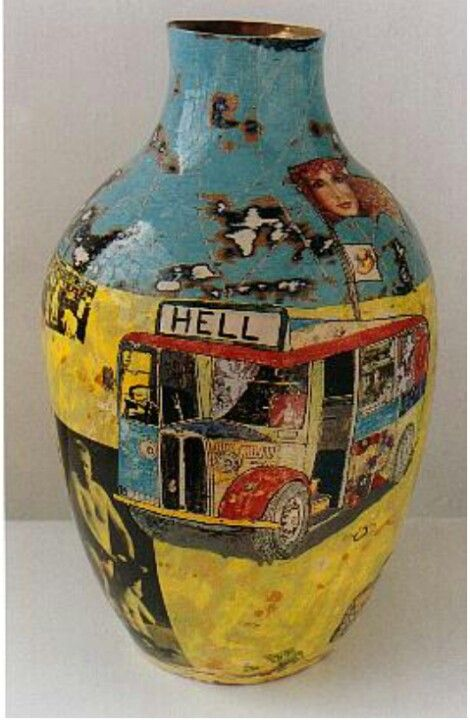 Potter Artist Grayson Perry (British: 1960)