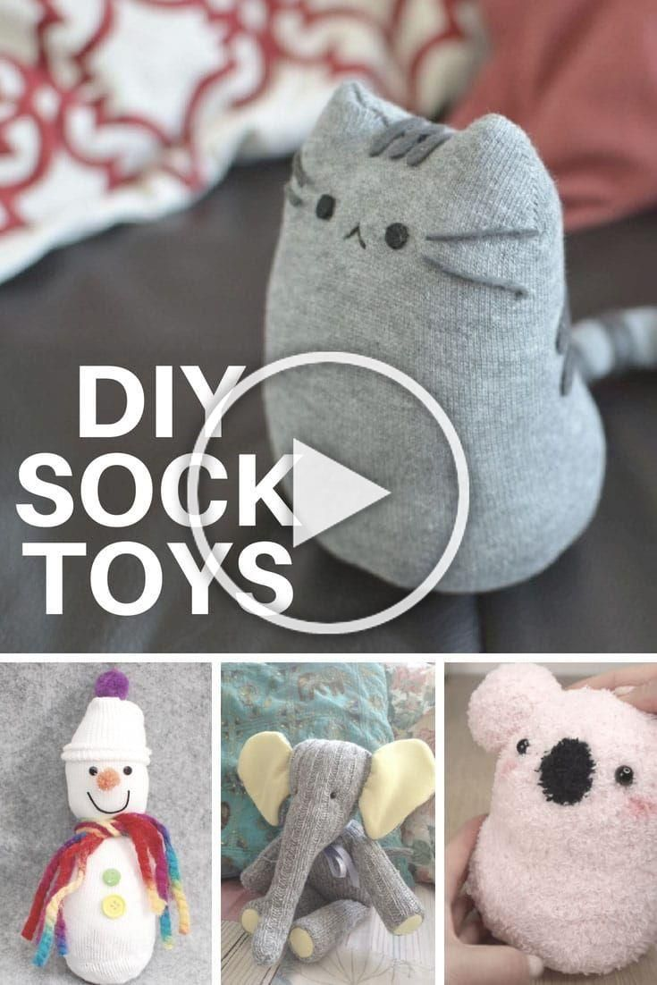 Diy Sock Toys You Can Make This Weekend Diychristmas Diydecorchristmas Christmas Diychristmasroomdecor Diy Sock Toys Diy Socks Diy Crafts For Teens