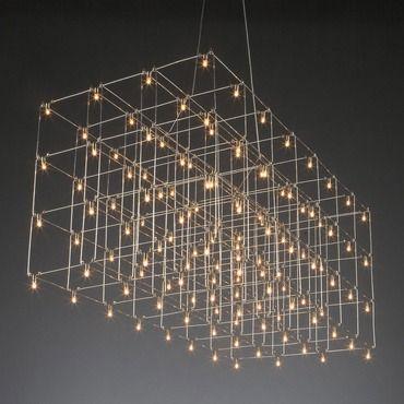 Universe LED Square Suspension