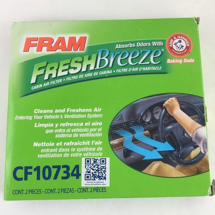 Fram FreshBreeze Cabin Air Filter CF10734 #Fram
