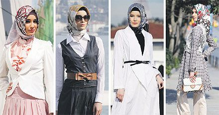 This is one way people dress in Turkey but it is not the only one.