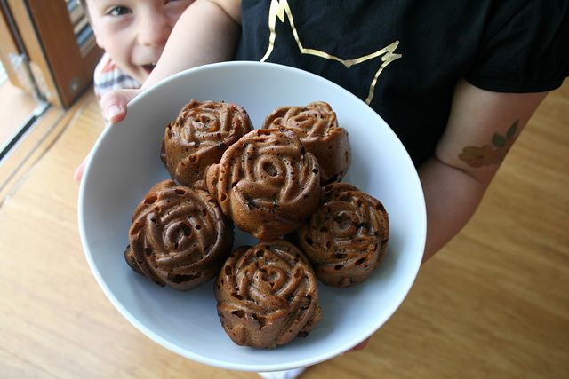 Rose Chocolate muffins 1 by Luz Mendoza Patterns, via Flickr