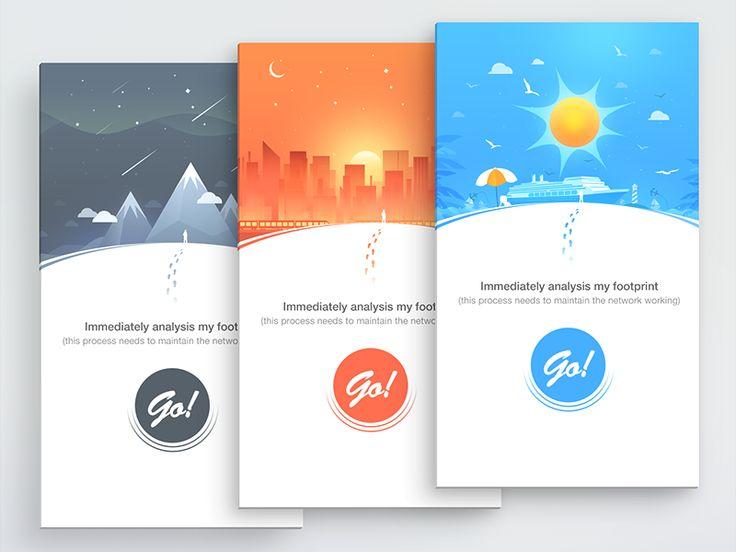 App Miss Index Design by baiheng