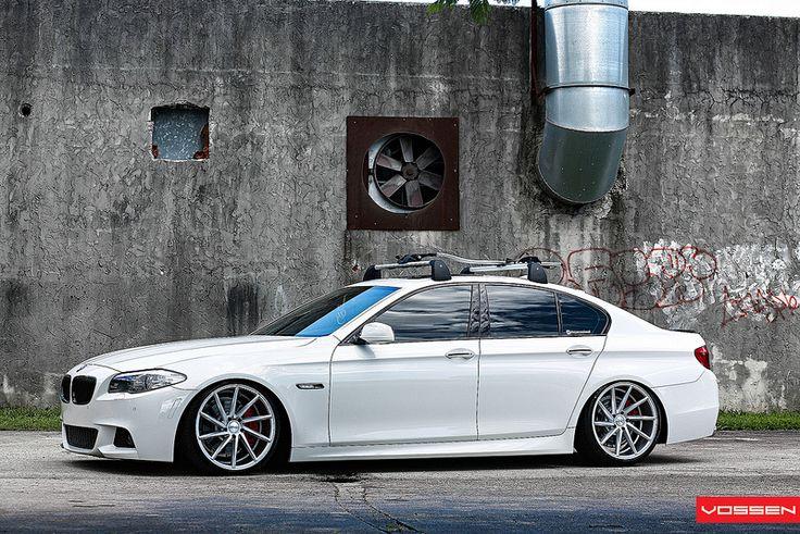 BMW 535i - CVT | CVT - Metallic Gloss Silver - F: 20x9 / R: … | Vossen Wheels | Flickr