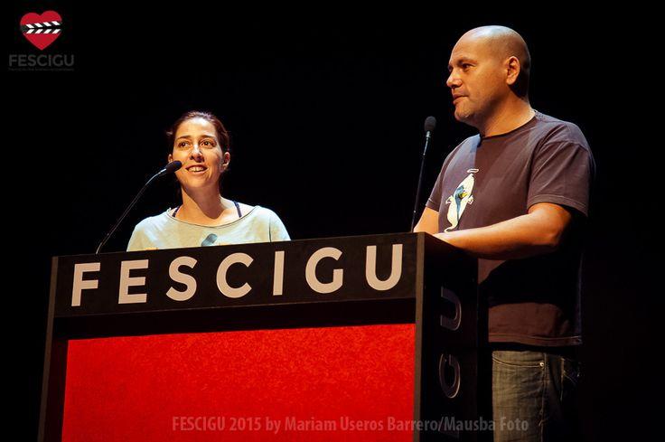 Carlos Caro (D), Premio Requetecortos. Fecha: 03/10/2015. Foto: Mariam Useros Barrero/Mausba Foto.