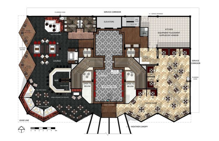 Hotel lobby floor plan design architecture pinterest for Design boutique hotel kurhaus salinenparc