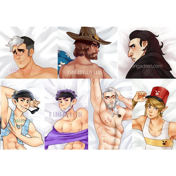 Body Pillow Cases (Shiro, Mcree, Kylo Ren, Link, Ichi, Kara, Geralt) ($50) ❤ liked on Polyvore featuring home, bed & bath, bedding, bed sheets, star wars bedding and peach bedding