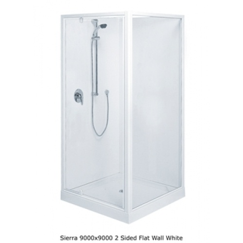 Clearlite Sierra Flat Wall Shower