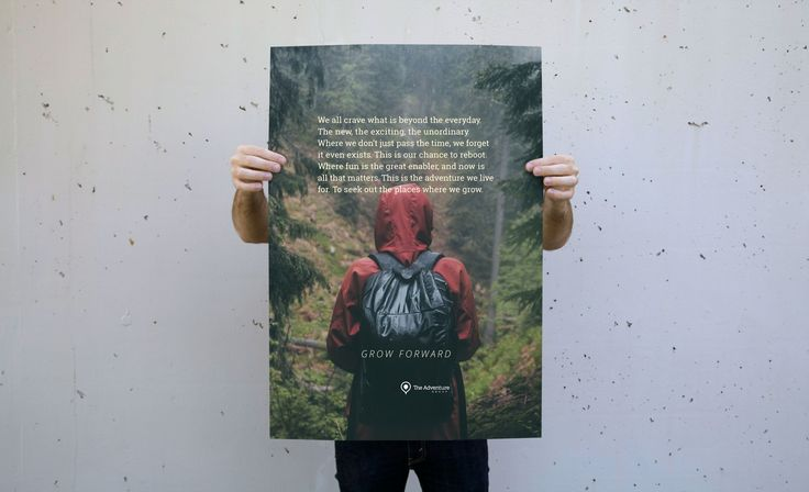 The Adventure Group - From strategic positioning, to identity, to digital re-launch, we developed a brand with a new found purpose: to provide its participants moments for growth.