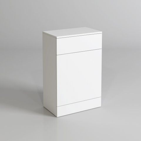 300mm Blanc Matte White Back To Wall Toilet Unit [PT-MF704] - £109.99 : Platinum Taps & Bathrooms