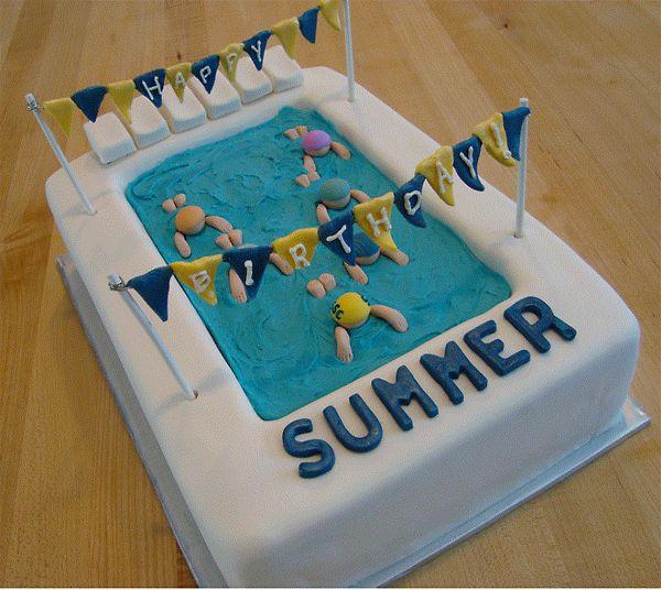 Best 25 Swimming Pool Cakes Ideas On Pinterest Swimming Cake Pool Cake And Swim Cake
