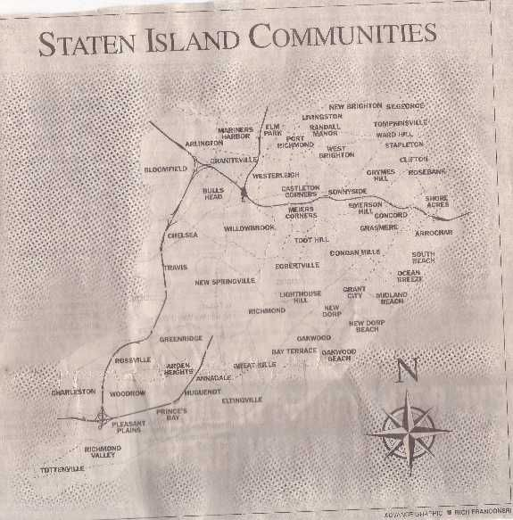 Background: History, Geography, and Community - Staten Island, Richmond County, NY, Genealogy Resources