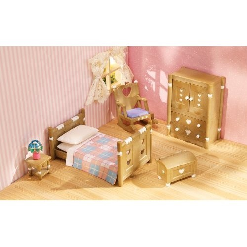 Calico Critters Bedroom: Calico Critters Country Bedroom Furniture Set ($18