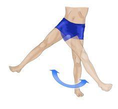 Exercices pour la hanche (+ en piscine)