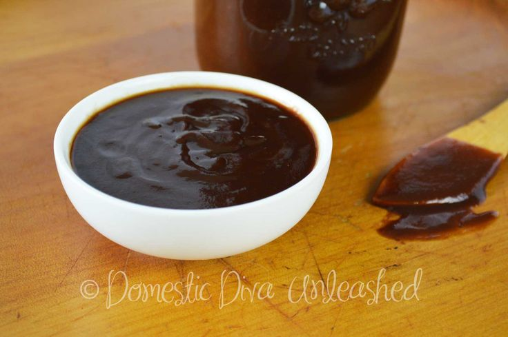 Domestic: Diva: Failsafe BBQ Sauce 1/4 cup RMS 4 tbs carob - but 3 is enough Add 2 tsp garlic