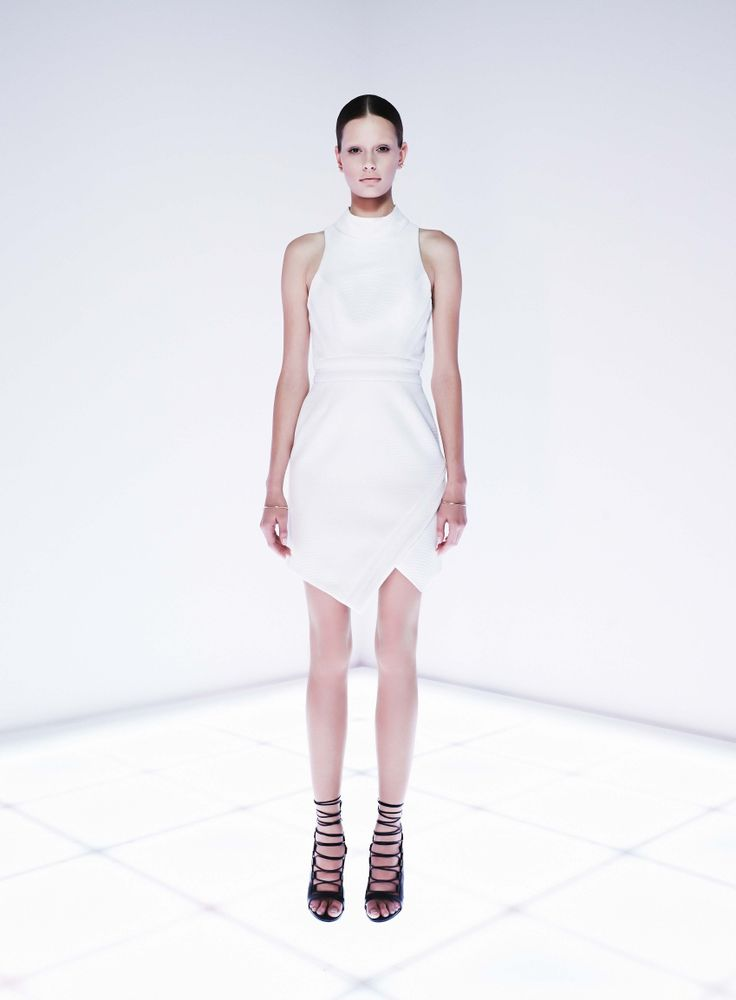 Parity Bit Dress by CAMILLA AND MARC http://www.camillaandmarc.com/eboutique/dresses.html
