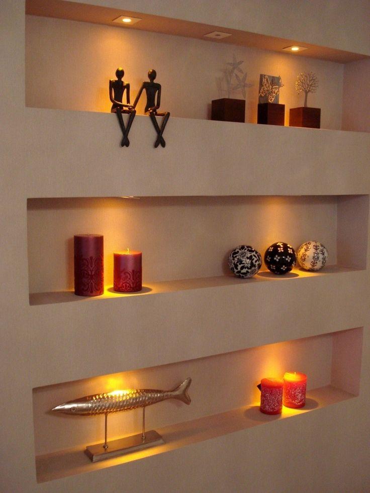 1000 id es propos de meuble tv placo sur pinterest chemin e de t l vision agencement salle. Black Bedroom Furniture Sets. Home Design Ideas