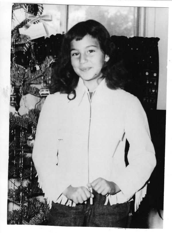 """Cher as a Child, Already With That Knowing Look, That Says:  """"I've Got You Babe"""""""