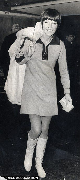 1960s fashions (such as those by designer Mary Quant) are the UK's fashion favourites of the past 75 years