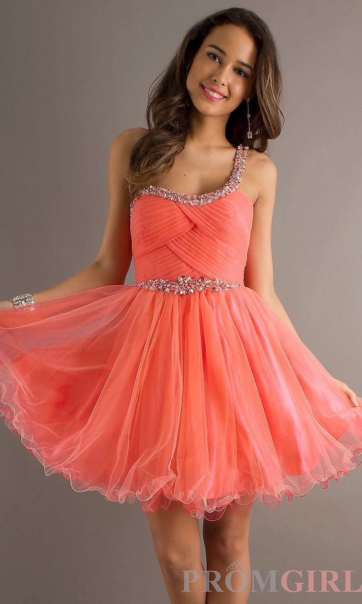 Pink red dress teen