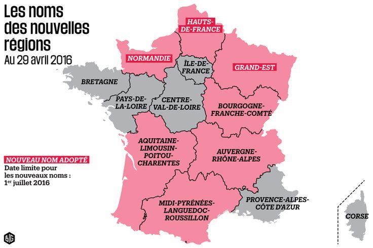 Le nom «Grand Est» officiellement choisi pour la région Alsace-Lorraine-Champagne-Ardenne - Libération