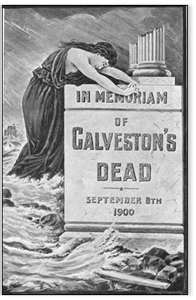 8,000 died on Sept. 8, 1900 in Hurricane in Galveston.