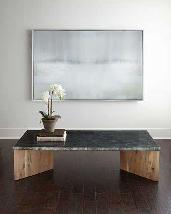 Alva zinc coffee table by regina andrew design at neiman for Coffee tables regina
