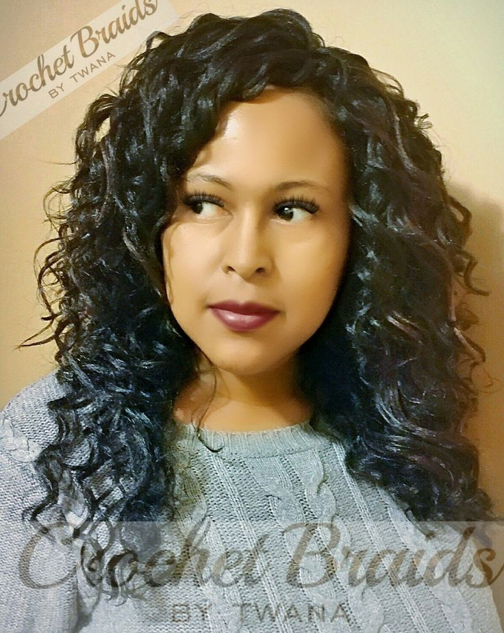 Crochet Braids Featuring A Mix Of Kima Ocean Wave And Kima