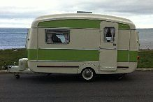 Vintage Classic Viking Fibreline Caravan  for sale on eBay an absolute STUNNER