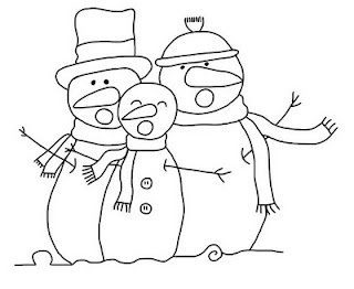 snowman digi