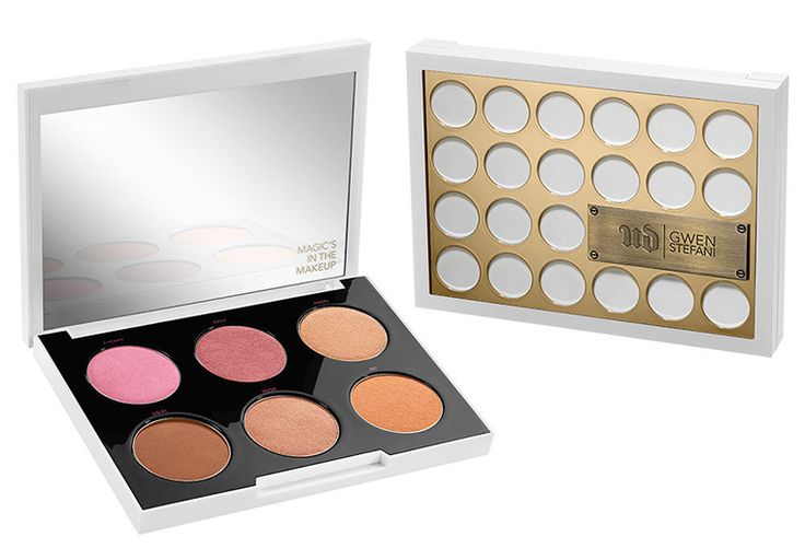 New from Urban Decay & Gwen Stefani: Blush Palette, Lipsticks, & Liners | temptalia
