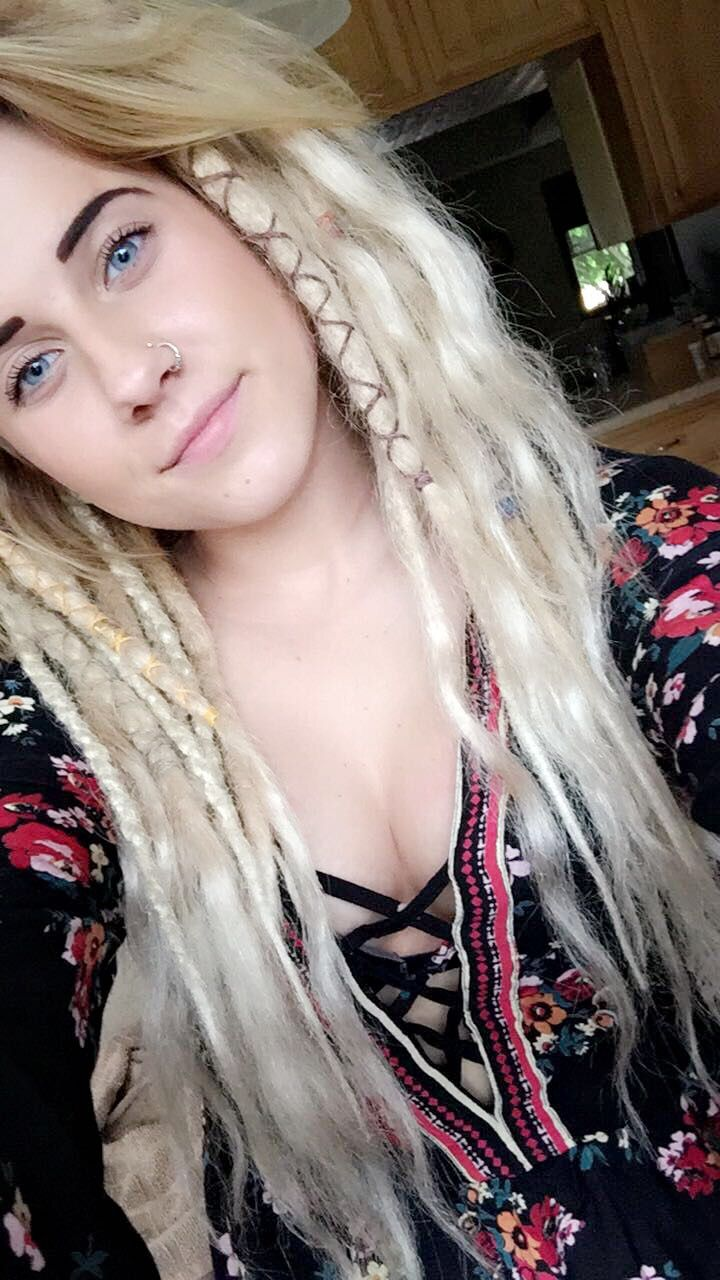 Dressed up dreads
