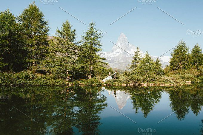 Wedding in Swiss Alps (Matterhorn) by 5max on @creativemarket