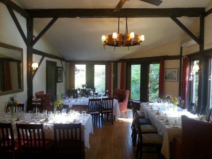 Ivey dining room at Benmiller inn