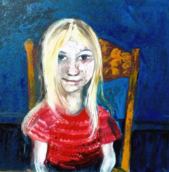 John Perceval Portrait of Tessa c1957