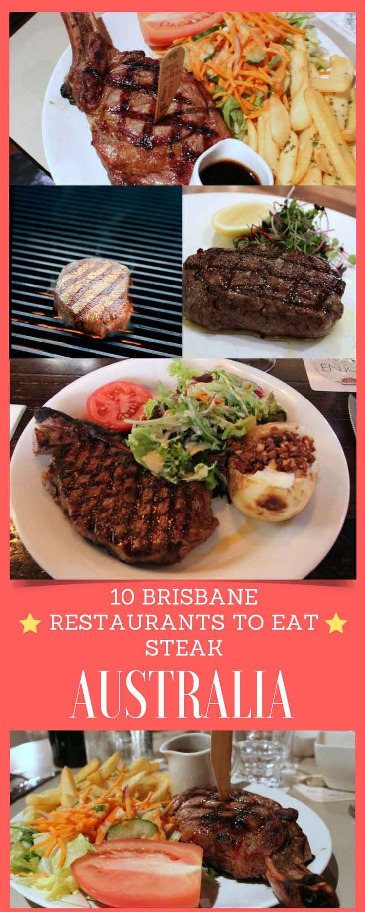 10 Brisbane restaurants to eat steak. Looking for a steak that's a cut above? Tender, juicy and cooked to perfection? Here's 10 Brisbane restaurants that specialise in doing just that and doing it well.