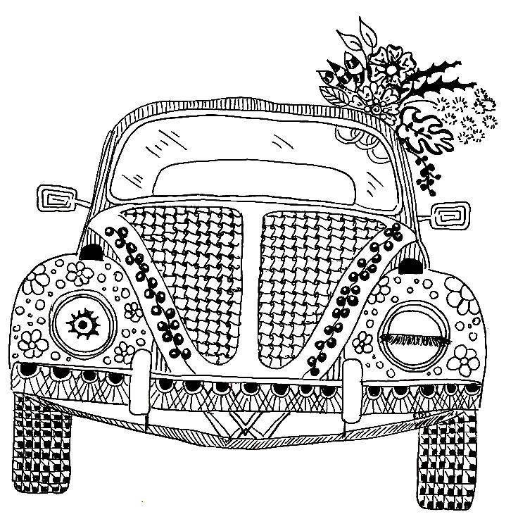 706 Best Vw Beetle Drawings Images
