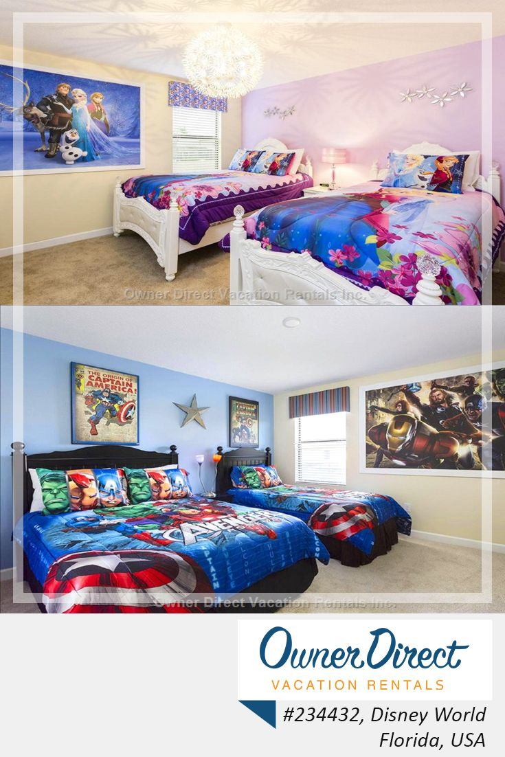 Disney themed bedroom - Have All The Comforts Of Home After A Long Day At Disney Plus Your