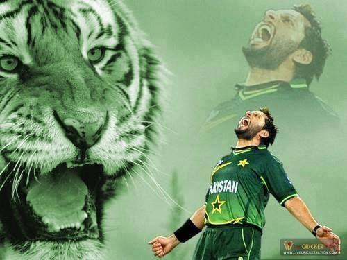 Shahid Afridi, Pakistan Cricket team captain.