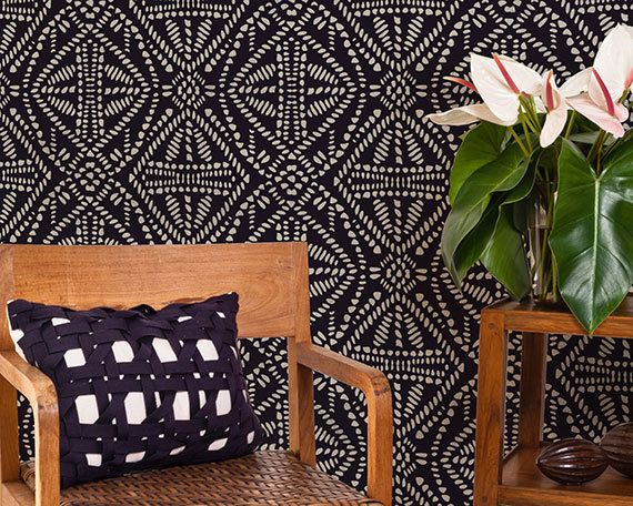 African Batik Allover Tribal Wall Stencil by royaldesignstencils, $89.95