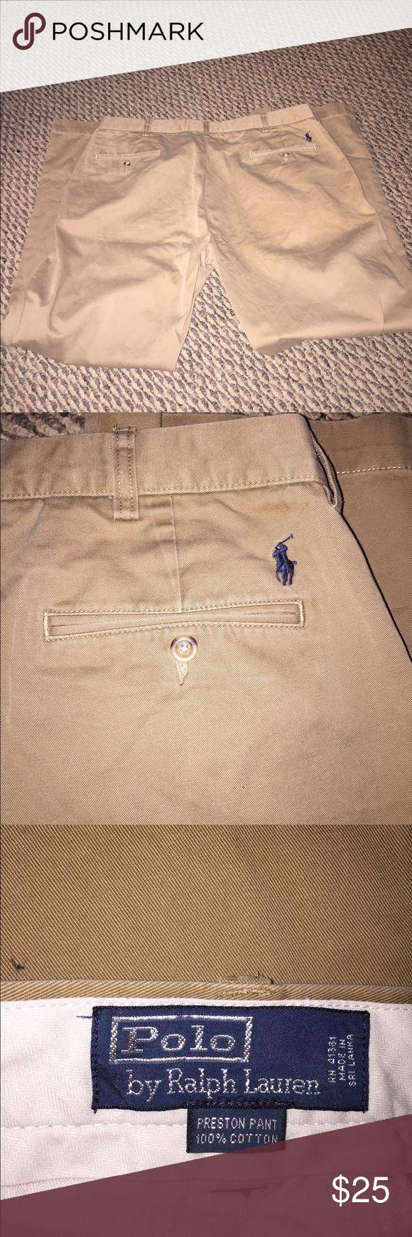 Polo Ralph Lauren khaki's for men. Sz. 38x32. Polo Ralph Lauren khaki's. Men's size 38x32. Great price. Polo by Ralph Lauren Pants Chinos & Khakis