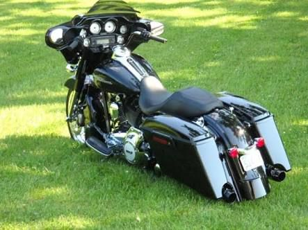 Image result for electra glide custom extended bags