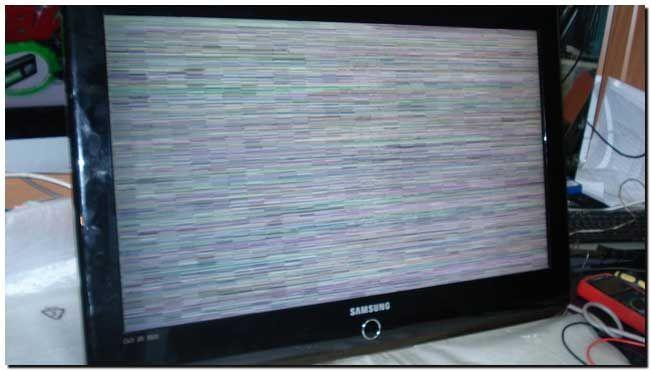 таком жк телевизор пропала картинка одну