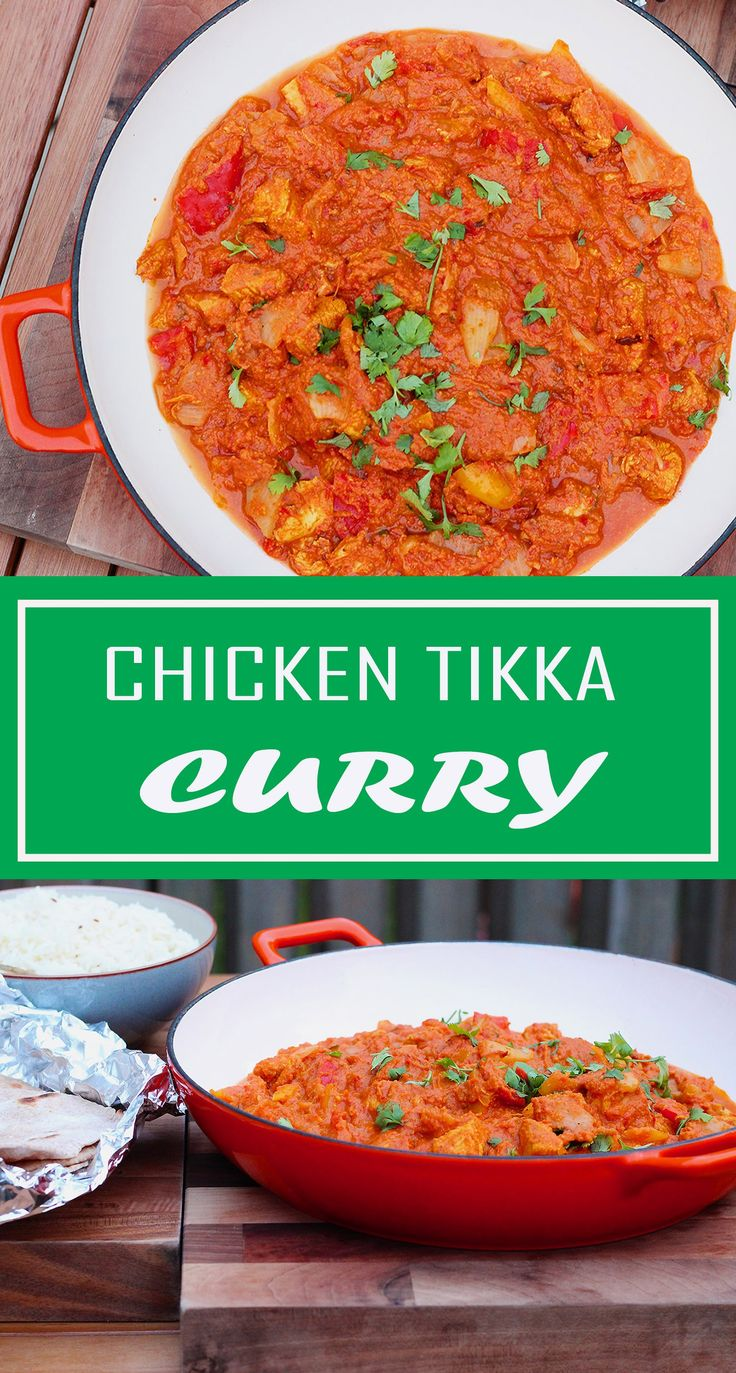Healthy Chicken Tikka Masala curry. Including recipe for homemade tikka masala paste, pilau rice and wholemeal roti breads. Get planning your weekend curry night in now :-)