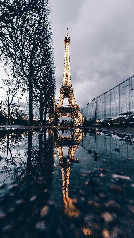 Papel de Parede – Torre Eiffel – #Eiffel #papel #P…