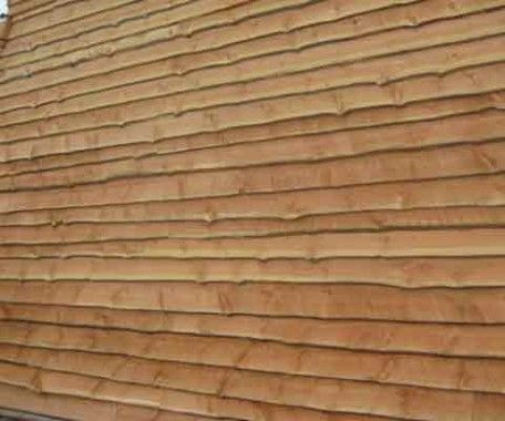 Vinyl Log Siding | Rustic Wood Siding Picture