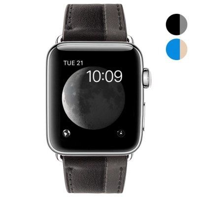 Just US$14.84, buy 38mm Cow Leather Strap Band for iWatch Apple Watch Series 1 / Series 2 Hit Color online shopping at GearBest.com Mobile.